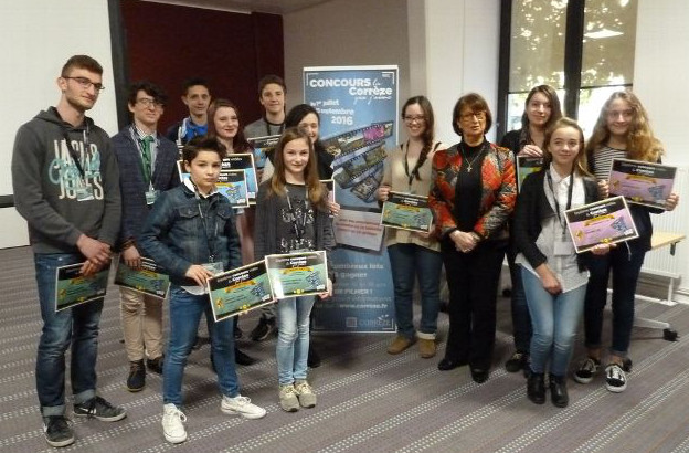 vingt-trois jeunes ont tenté leur chance à ce concours organisé par le conseil départemental de la Corrèze.