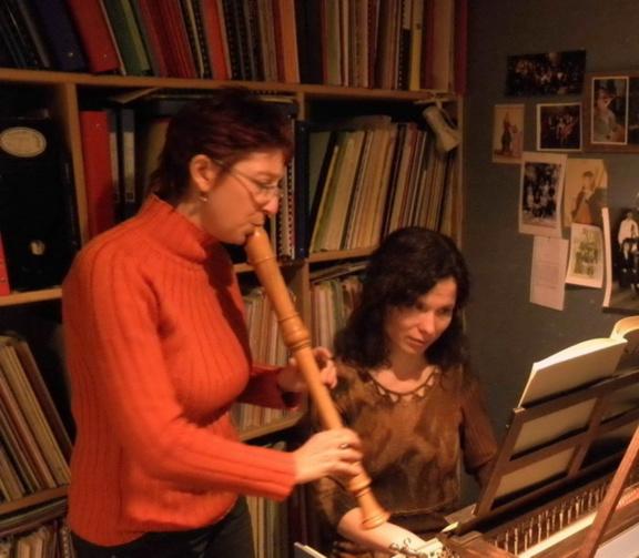Laurence POTTIER (flûte à bec), Zdenka OSTADALOVA (clavecin)