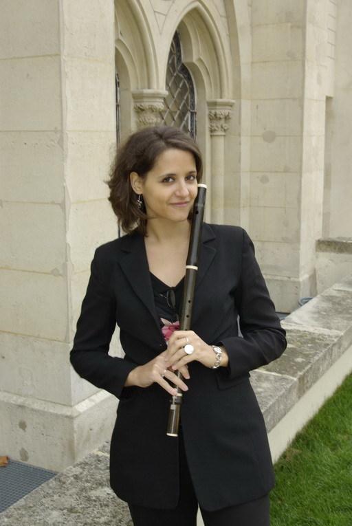 Clémence Grégoire (flûte traversière), Akitsu Orii (flûte traversière), Clément Geoffroy (clavecin)
