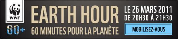 Earth Hour : Mobilisez-vous pour Climat !