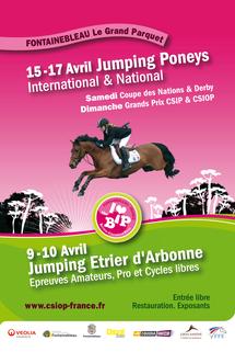 affiche officielle Bonneau International Poney 2011
