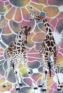 Autour de la girafe     Exposition du 27 avril au 21 mai 2011