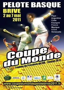coupe du monde de Pelote basque Brive 2011