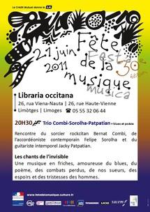 La Libraria occitana festa la musica !