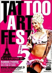 TATTOO ART FEST - à l'Académie Fratellini