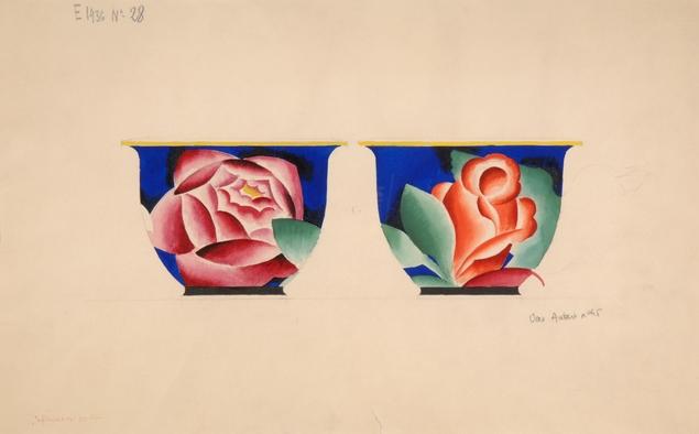 Le Décor Floral aux XIXe et XXe siècles à Sèvres