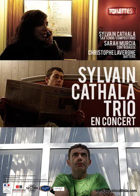 Sylvain CATHALA Trio à la Cave du 38Riv'