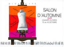 Présentation de la délégation du Japon du Club des Amis de l'Europe et des arts (C.A.E.A) invitée au Salon d'Automne