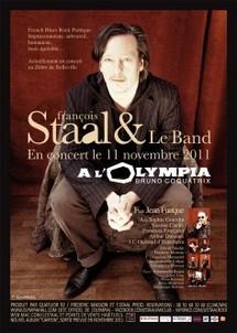 François Staal, poète de la chanson blues à l'Olympia avec Jean Fauque