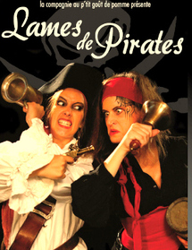 Lames de Pirates, spectacle jeune public à partir de 5 ans