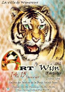 Exposition Art'Wim 2012 à Wimereux