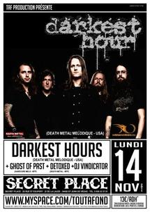 [14/11] DARKEST HOUR + DETOXED + GHOST OF PAST @ Secret Place – 34