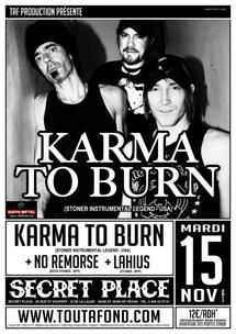 [15-11] KARMA TO BURN + NO REMORSE + LAHIUS @ SECRET PLACE - 34