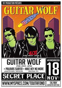 [18/11] GUITAR WOLF + PALAVAS SURFERS + MIKE HEY NO MORE @ Secret Place – 34