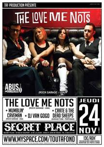 [24-11] THE LOVE ME NOTS + GUESTS AND DJs@ SECRET PLACE – 34