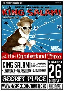 [26/11] KING SALAMI & THE CUMBERLAND THREE @ Secret Place