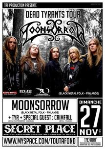 [27/11] MOONSORROW + TYR + Special Guest :  Crimfall @ Secret Place - 34