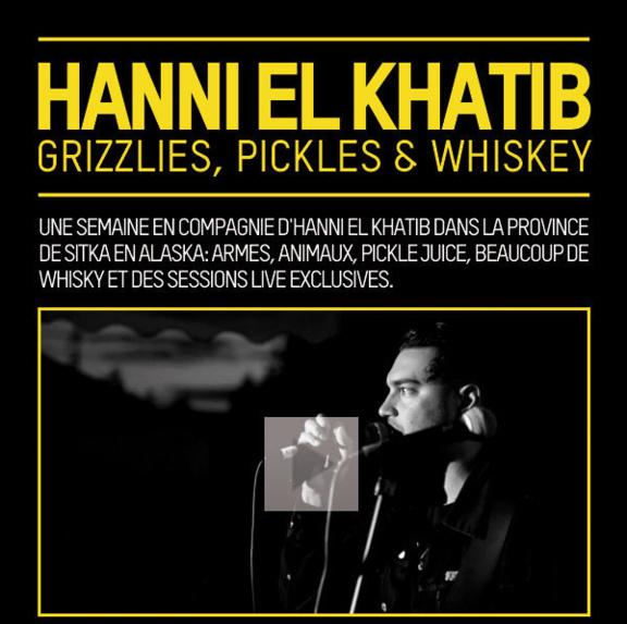 Hanni El Khatib / Taratata / En tournée !