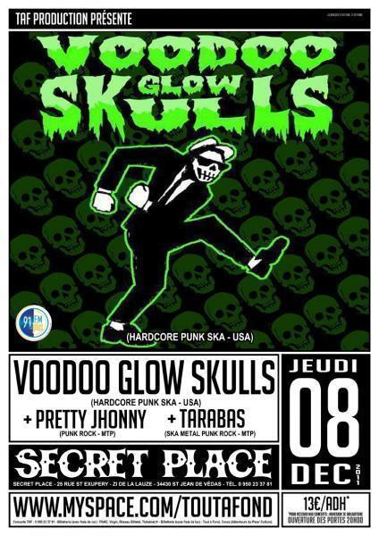 [08/12] VOODOO GLOW SKULLS + TARABAS + PRETTY JOHNNY @ Secret Place - 34