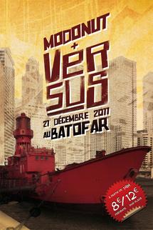 Versus en concert le 21 Décembre au Batofar