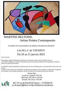 exposition du 24 au 31 janvier 2012