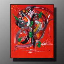 peinture Retour - 38 x 46