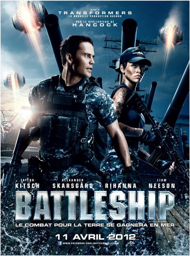 BATTLESHIP Un film de Peter Berg avec Taylor Kitsch, Rihanna.