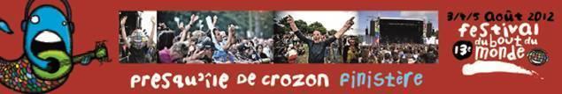 Festival du Bout du Monde Presqu'île de Crozon (29).
