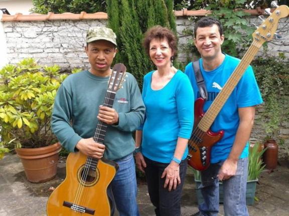 """trio """"Guanabara"""" en concert au 38Riv'"""