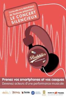 Une fête de la musique silencieuse à Toulouse