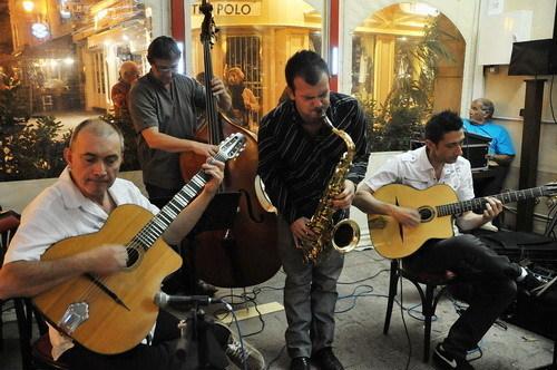 Manouswing quartet à la Cave du 38Riv'