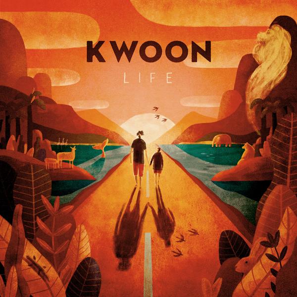 Life, le nouveau single qui marque le retour de Kwoon