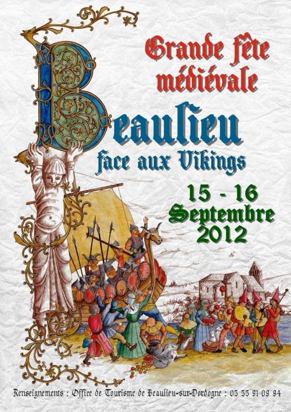 fête médiévale « Beaulieu face aux vikings