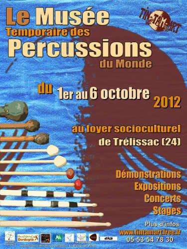Musée Temporaire  des Percussions du Monde