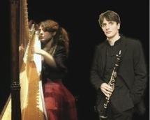 Duo harpe et clarinette au château des Tourelles