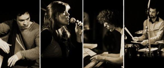 Sarah Amiot jazz quartet en concert au 38Riv'