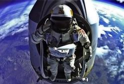 Le saut stratosphérique de Felix Baumgartner