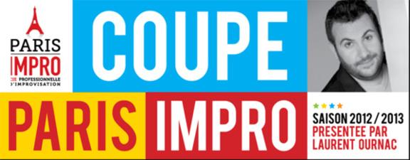 Match d'impro au théâtre du Temple - Coupe Paris Impro le 5 novembre 2012
