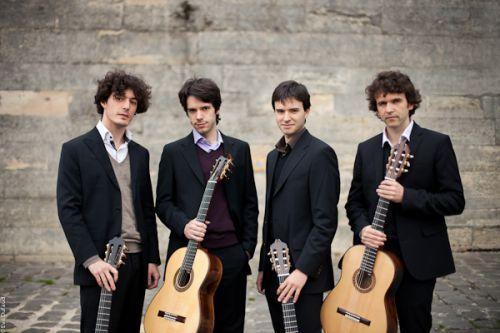 Quatuor Eclisses : guitare classique à la Cave du 38Riv'