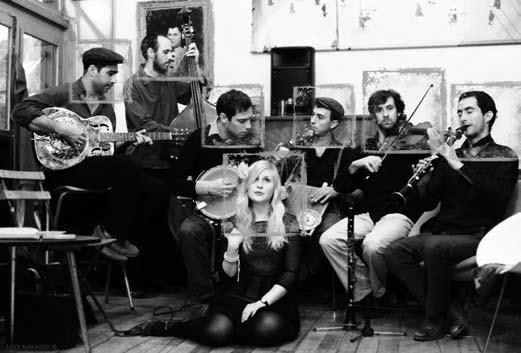 Emily Cole & the Hippocampus Jass Gang en concert au 38Riv'