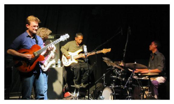 Julien Marga Quartet à la Cave du 38Riv'
