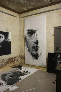Bouillon d'art Présente les peintures de Benjamin Carbonne