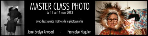 Master class photo avec Jane Evelyn Atwood et Françoise Huguier