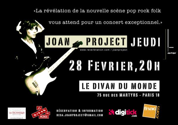 Concert Joan Project