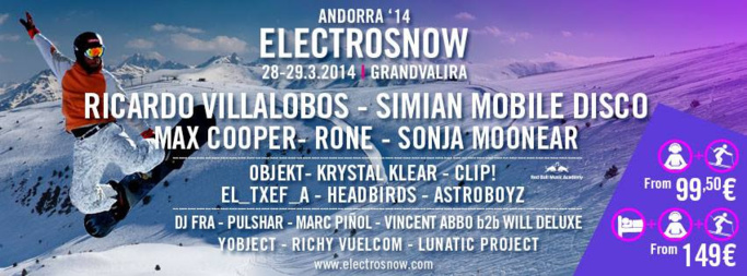 Festival ElectroSnow   Ricardo Villalobos, Simian Mobile Disco, Rone...