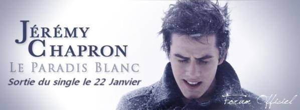 Des nouvelles de Jérémy Chapron de la Star Ac : il est au Paradis (Blanc) !