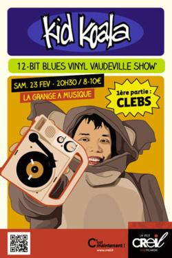 En Février à la GAM : Kid Koala, James Chance, Waz Up Battle 2.0