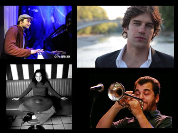 Guto Brinholi Quartet à la Cave du 38Riv'