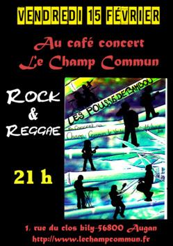 Concert Les pousses de Bambou- Rock & Reggae