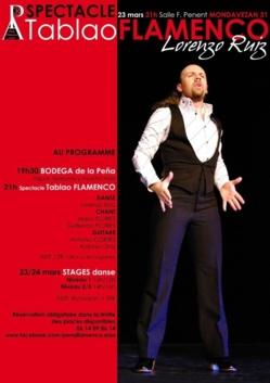 Spectacle + stages FLAMENCO - LORENZO RUIZ -